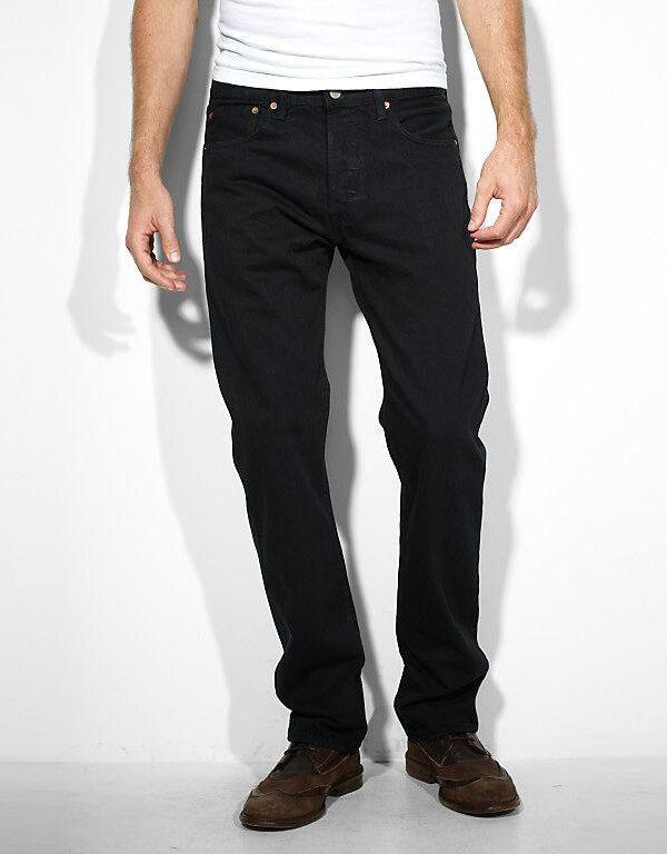 JEANS 501 ORIGINAL BLACK 80701