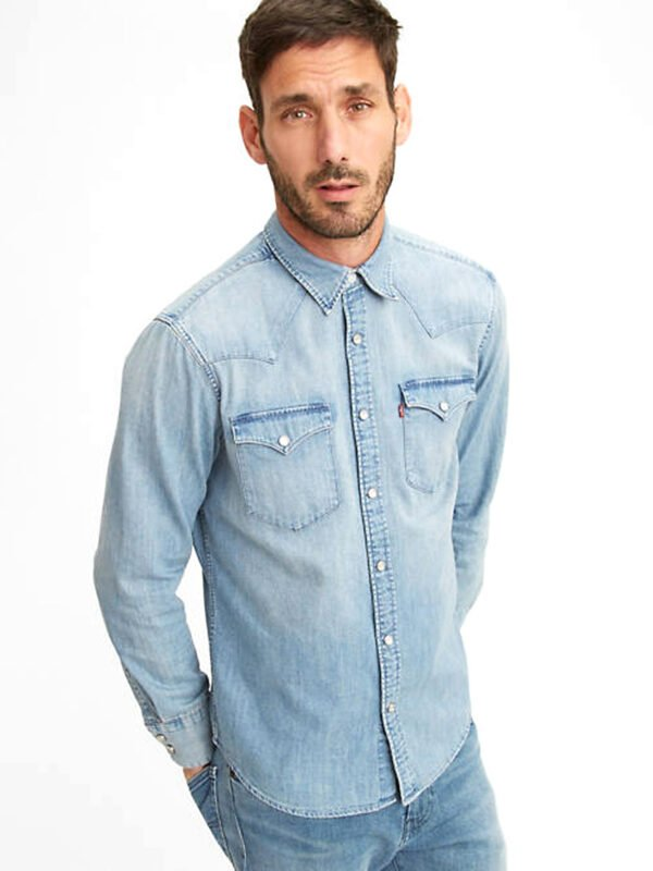 CAMISA LEVIS BARSTOW WESTERN STANDARD RED CAS