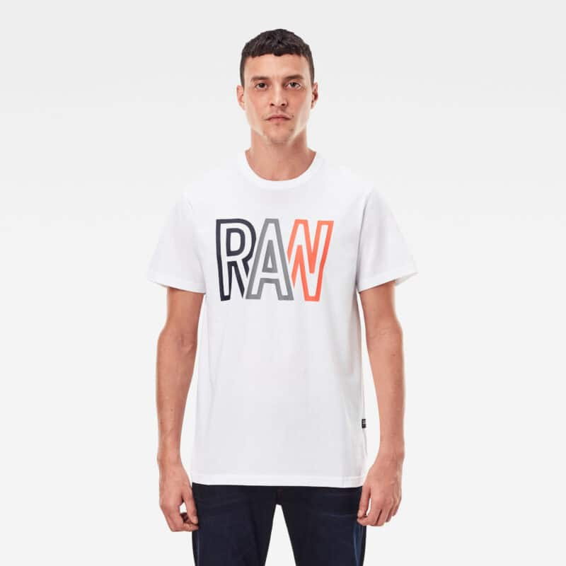 CAMISETA G-STAR RAW R T S/S