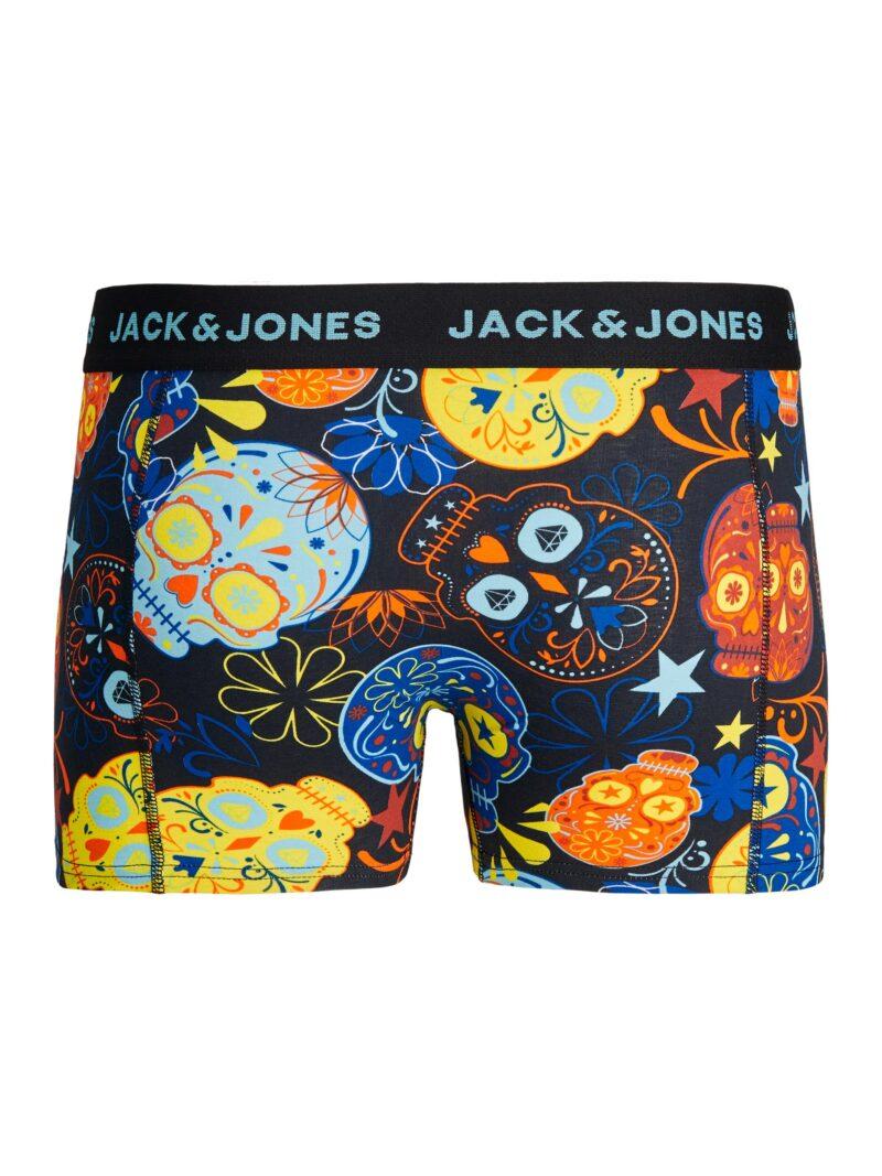 BOXER PACK 3 JAC&JONES JACSUGAR SKULL
