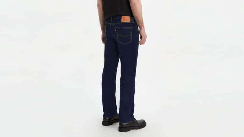 JEANS LEVIS 514 STRAIGHT CHAIN RINSE